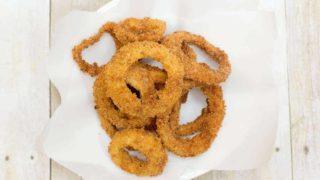 Panko Fried Onion Rings