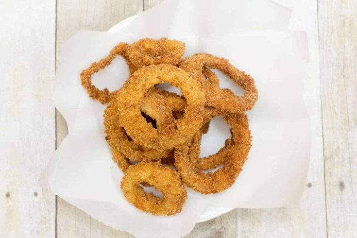 Panko Fried Onion Rings