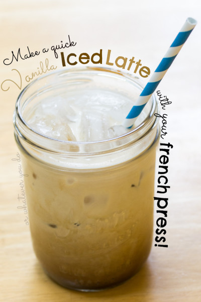 Quick Iced Latte