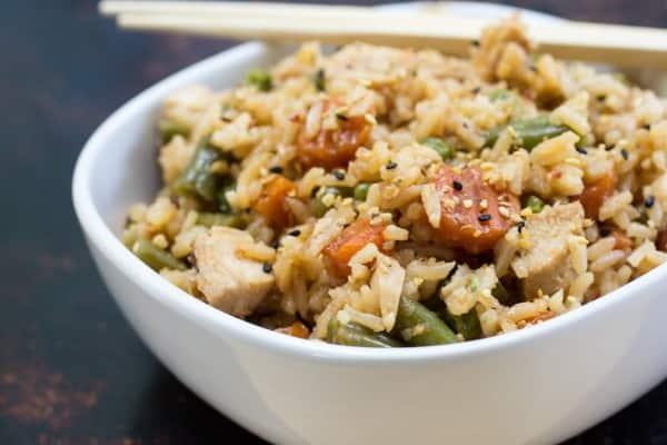 Teriyaki chicken rice bowls recipe