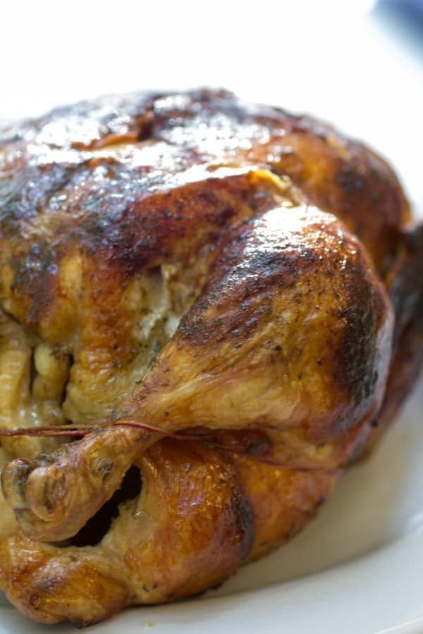 Herbed Rotisserie Chicken Or Whatever You Do