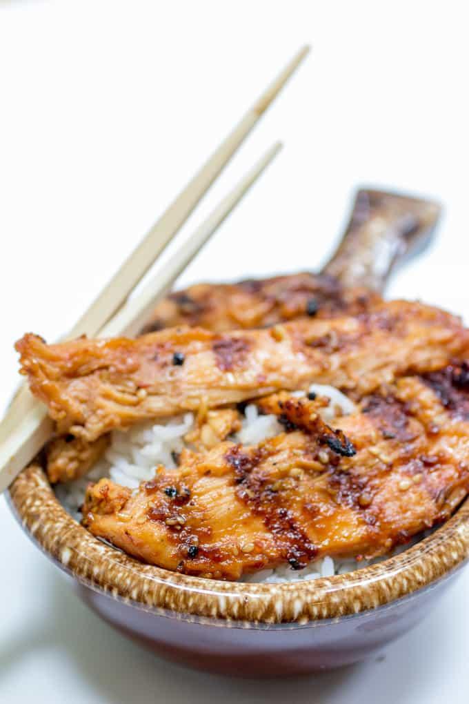 Spicy Grilled Chicken Teriyaki
