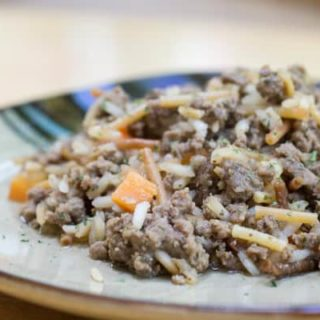 Homemade Beef Rice-a-Roni