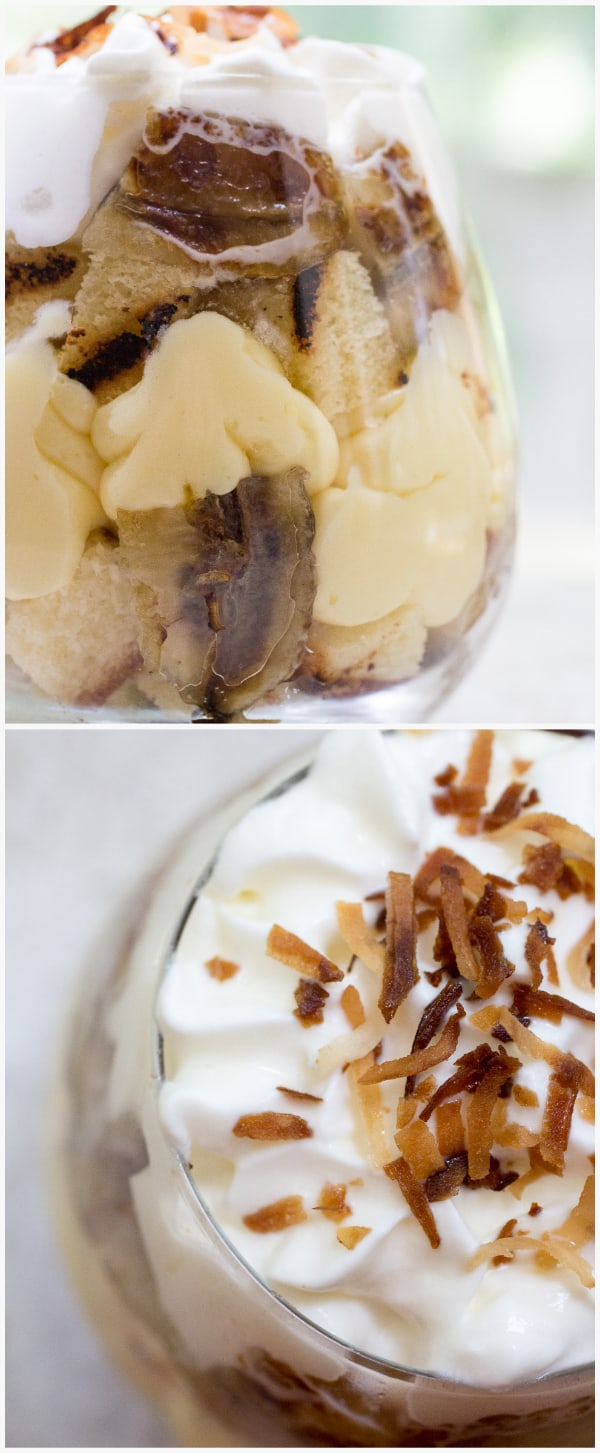 Caramelized Banana Trifle