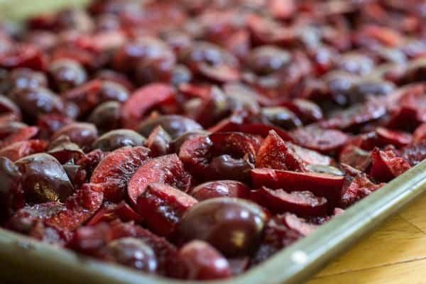 Fresh Cherry Galette