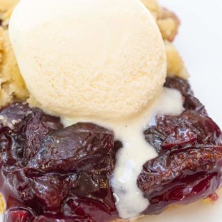 Bing Cherry Galette Recipe