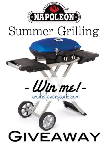 Napoleon Travel Grill Giveaway