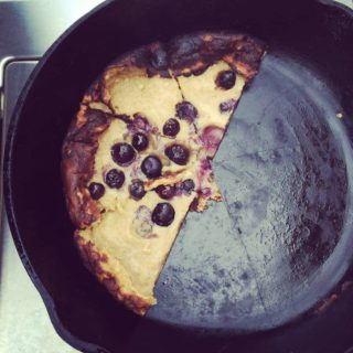 Blueberry Grill Pancake