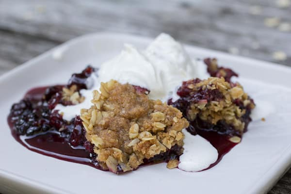 Blackberry Crisp-8