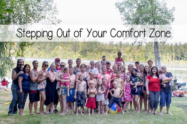 Comfort Zone Post
