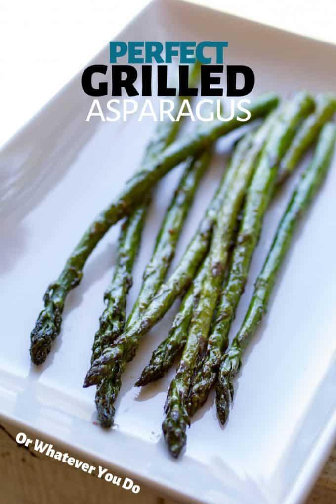 Traeger Grilled Asparagus