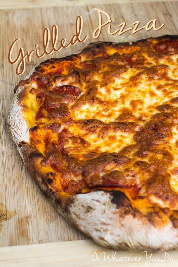 Grilled Pizza Pinterest