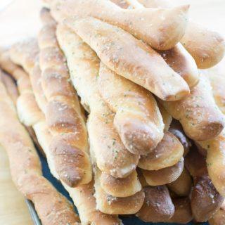 Roasted Garlic Parmesan Twisty Bread-15