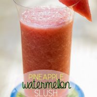 Pineapple Watermelon Slush