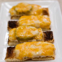 Mini Dilly Tuna Melts