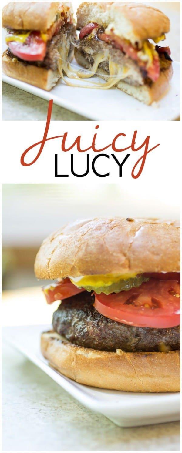 Juicy Lucy I www.orwhateveryoudo.com I #recipe #burger #bbq