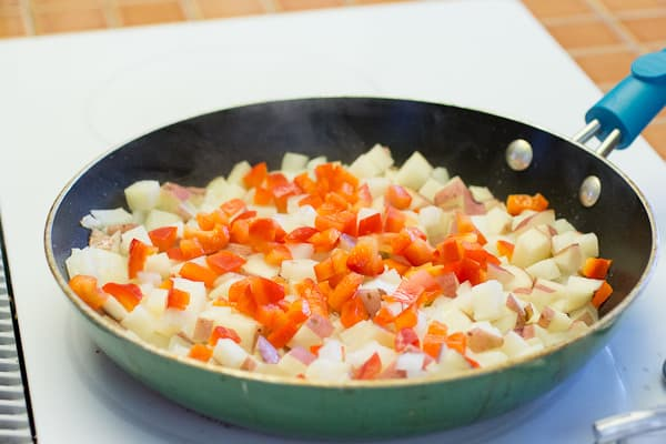 Old-fashioned Bacon Breakfast Skillet-2