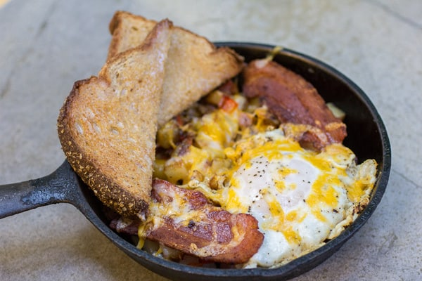 Old-fashioned Bacon Breakfast Skillet-5