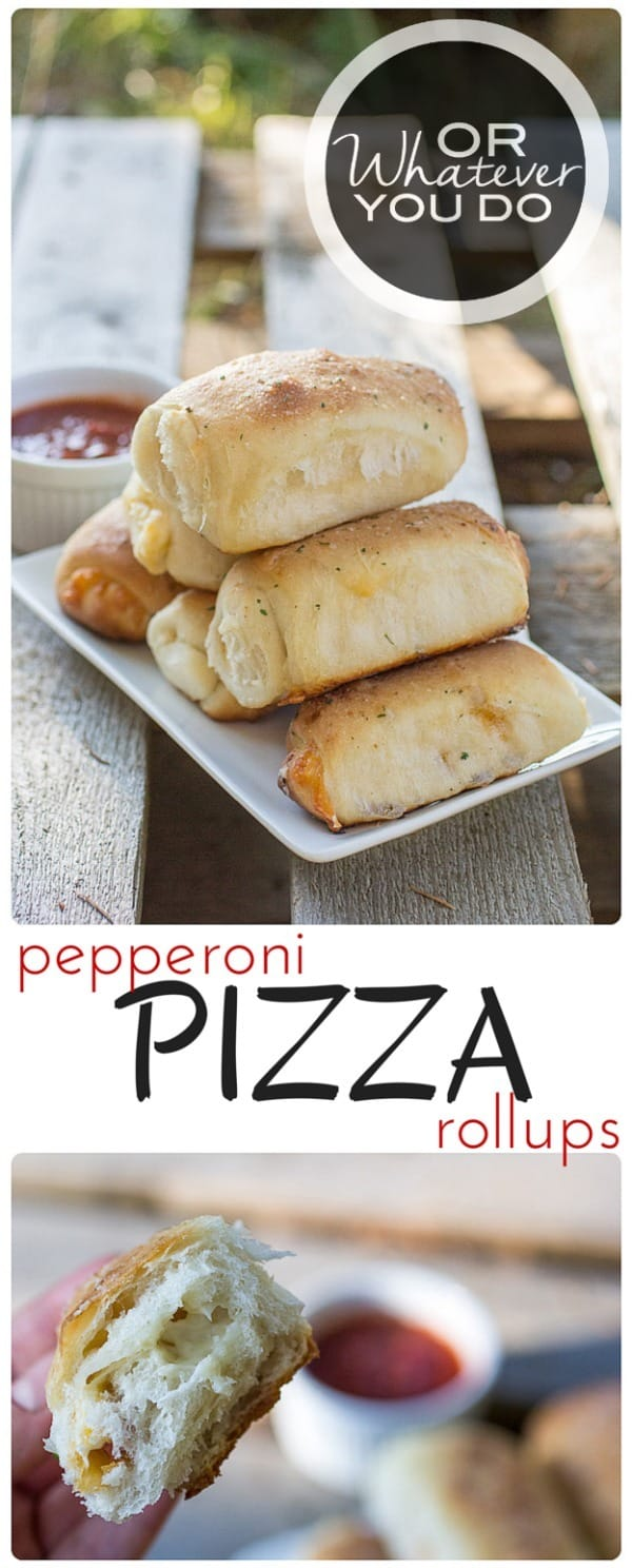 Pepperoni Pizza Rollups