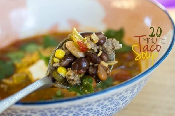20 Minute Taco Soup