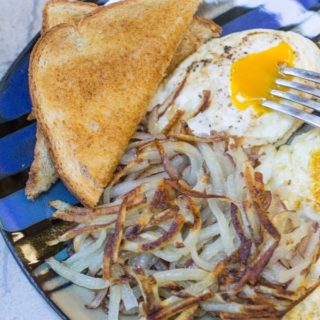 Easy Fresh Hashbrowns