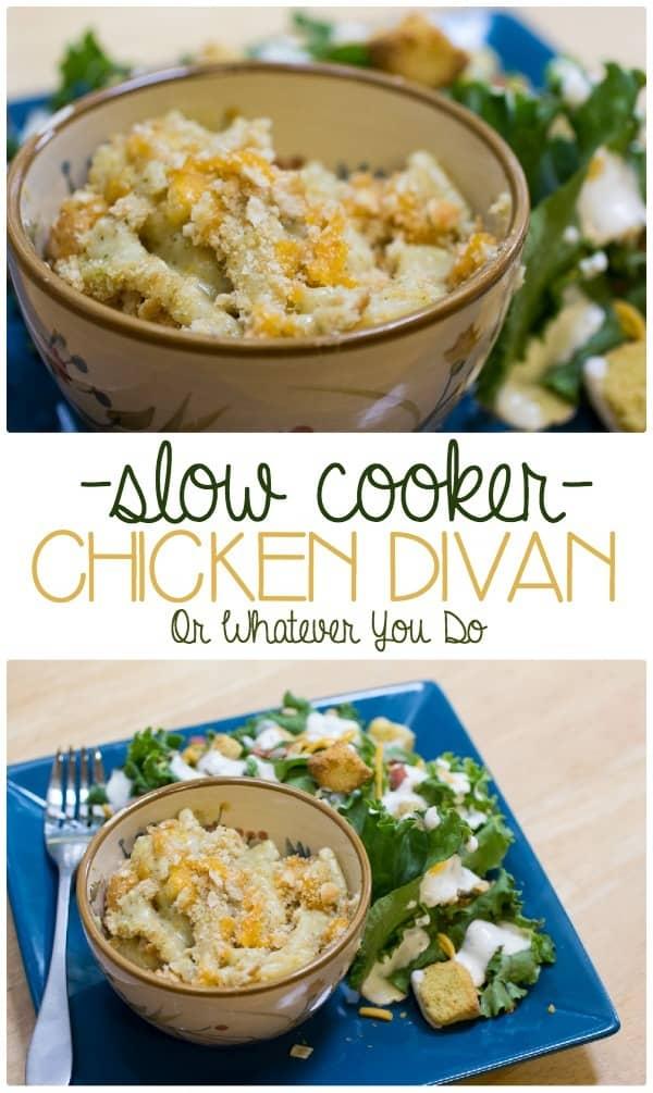 Slow Cooker Chicken Divan