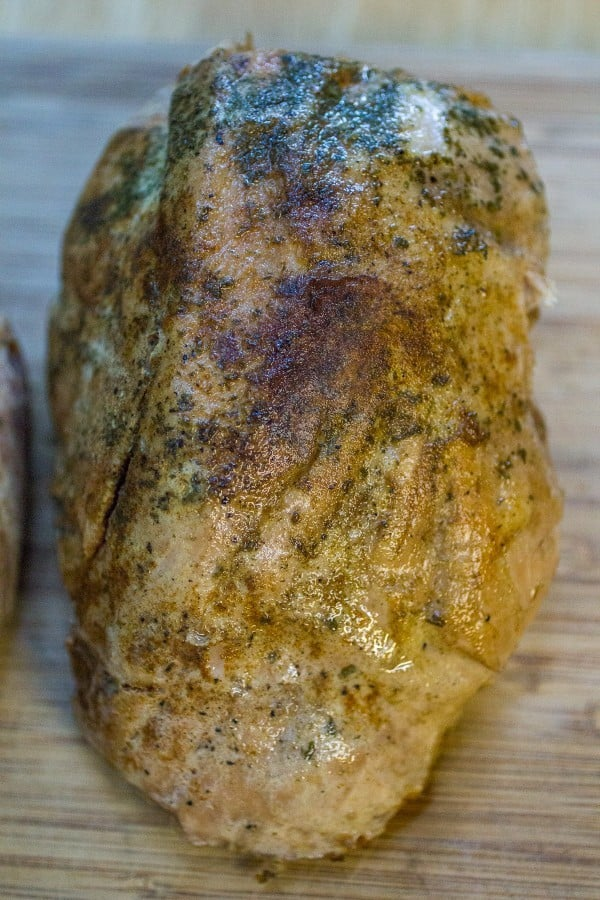 Sous Vide Pork Sirloin Roast