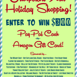 Jumpstart Your Holiday Shopping Fund Giveaway