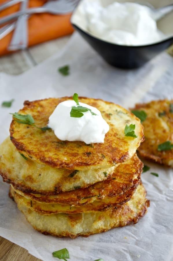 Mashed Potato Cakes I leftover mashed potato recipe idea
