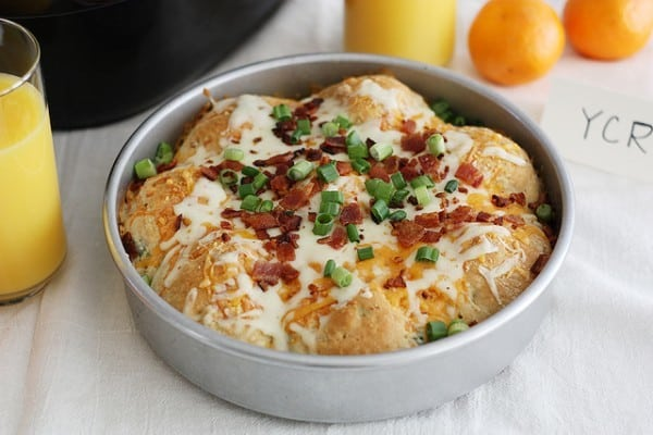 Loaded Mashed Potato Stuffed Biscuits - leftover mashed potato recipe idea