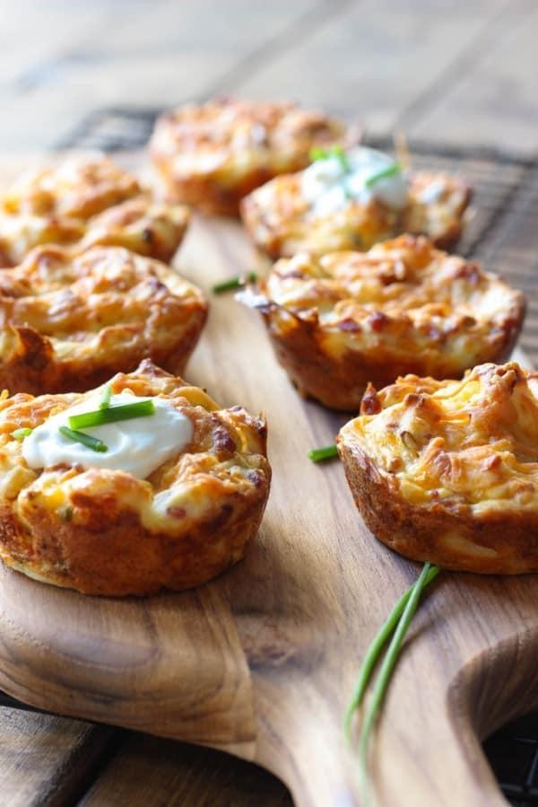 Mashed Potato Puffs - leftover mashed potato recipe idea
