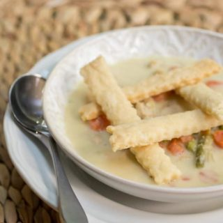 Chicken Pot Pie Soup Recipe
