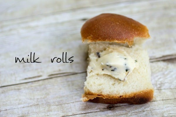 Do you love soft, buttery, freshly made rolls? Then you'll love these milk rolls! #homemade #recipe #best