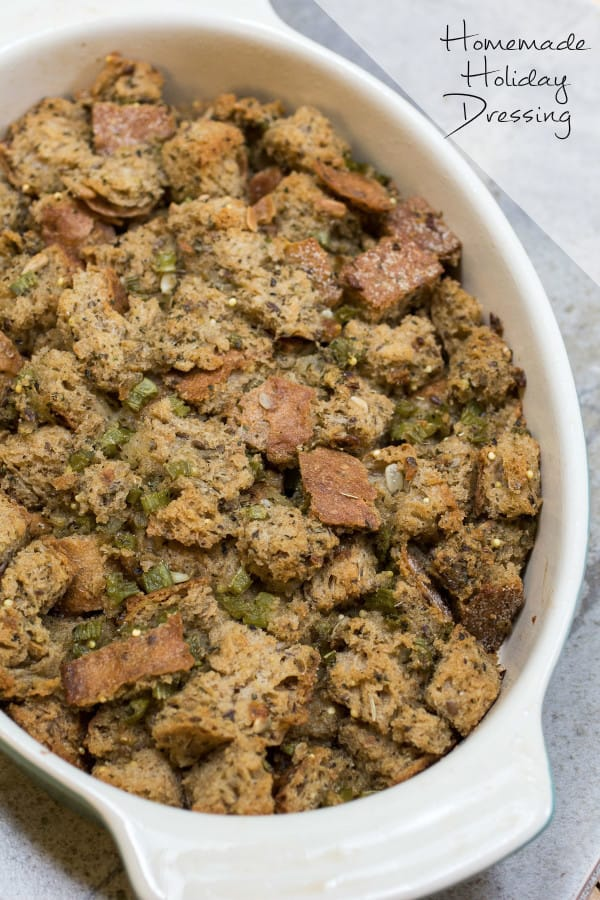 Simple Herbed Stuffing-1