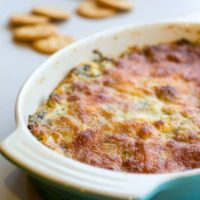 Sriracha Spinach Garlic Dip