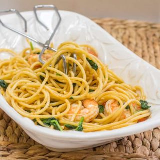 Blackened Shrimp Pasta-5