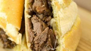 French Onion French Dip Chuck Roast