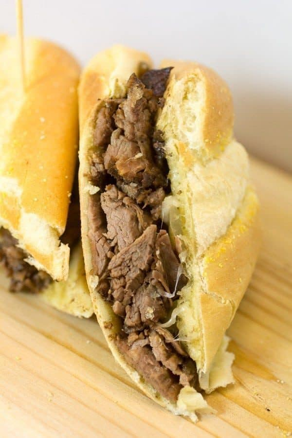 French Onion French Dip Sandwiches