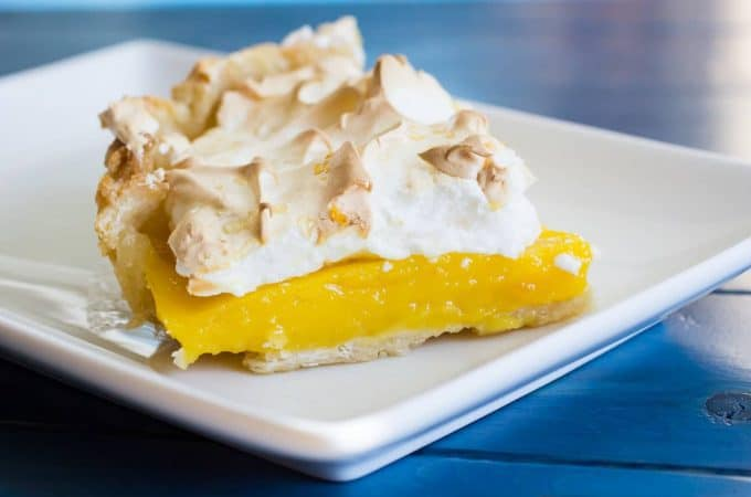 Meyer Lemon Orange Meringue Pie