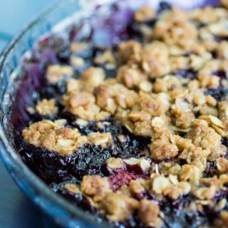 Easy Berry Crisp