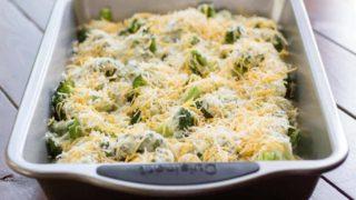 Roasted Broccoli Casserole