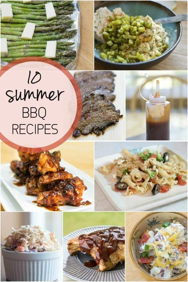 10 Summer Recipes Blog Hop