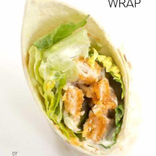Easy Chicken Ranch Wrap Recipe