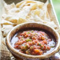 Fire Roasted 15 Minute Salsa