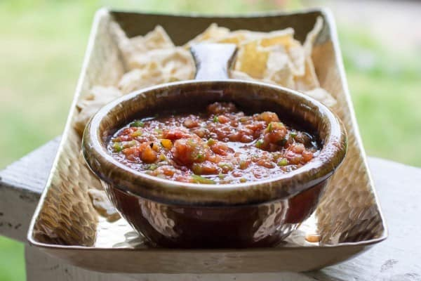 15 Minute Fire Roasted Salsa