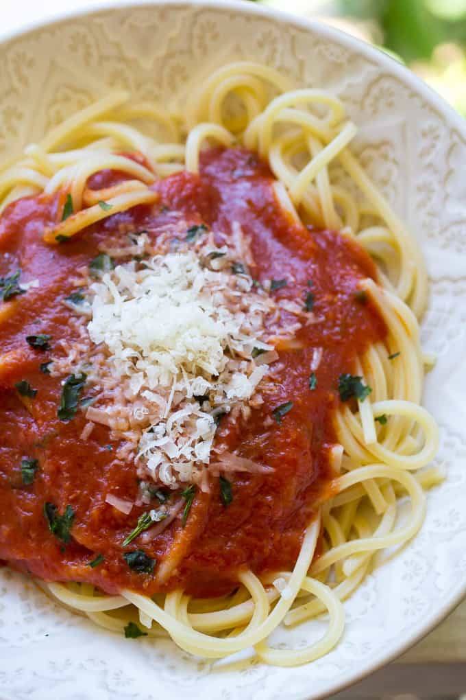 Quick and Easy Herbed Marinara