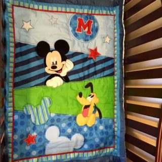 Disney Baby Nursery on a Budget