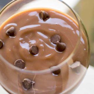 3 Ingredient Chocolate Cheesecake