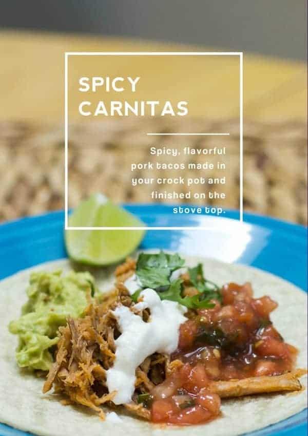 Spicy Carnitas