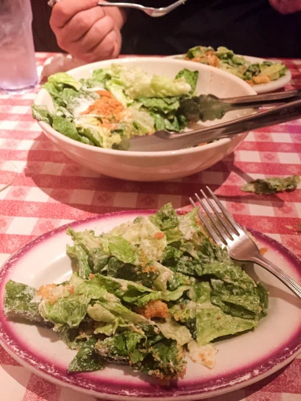 Buca di Beppo Caesar Salad